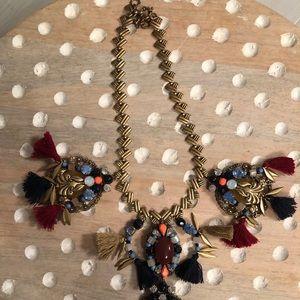 J.Crew tassel necklace
